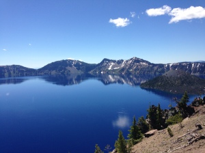 Crater Lake...  It took a lot of steps to make it too.